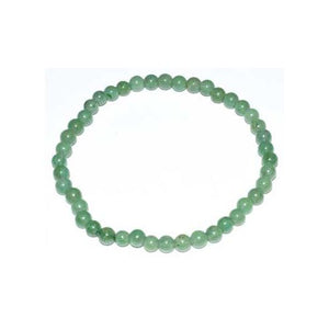 4mm Gemstone Round Bead Bracelets (38 Types)