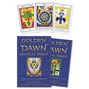 Golden Dawn Magical Tarot Deck & Book (Chic Cicero & Sandra Tabitha Cicero)