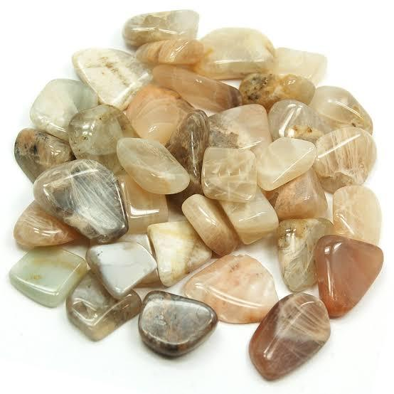 Moonstone Tumbled Crystals (1lb)