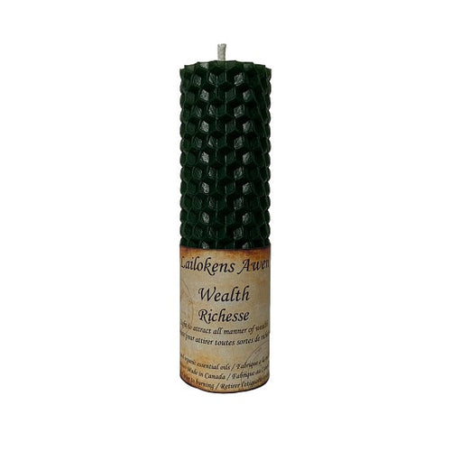 Handcrafted Beeswax Spell Candles (16 Types)