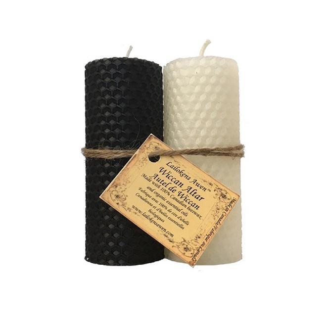 Handcrafted Beeswax Altar Candle Sets (4 Types)
