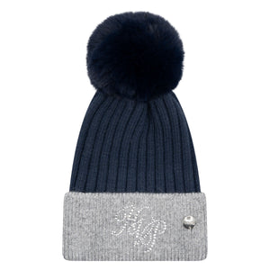 HV Polo Benja winter hat navy