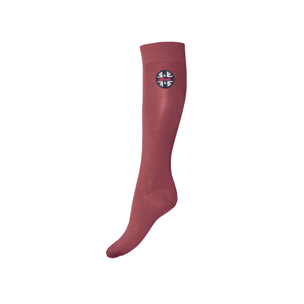 Spooks dark rose socks