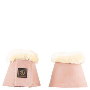 BR Rome Powder rose sheepskin overreach boots