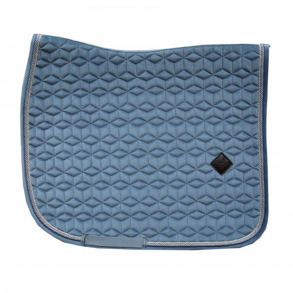 Kentucky velvet Light blue dressage saddlepad