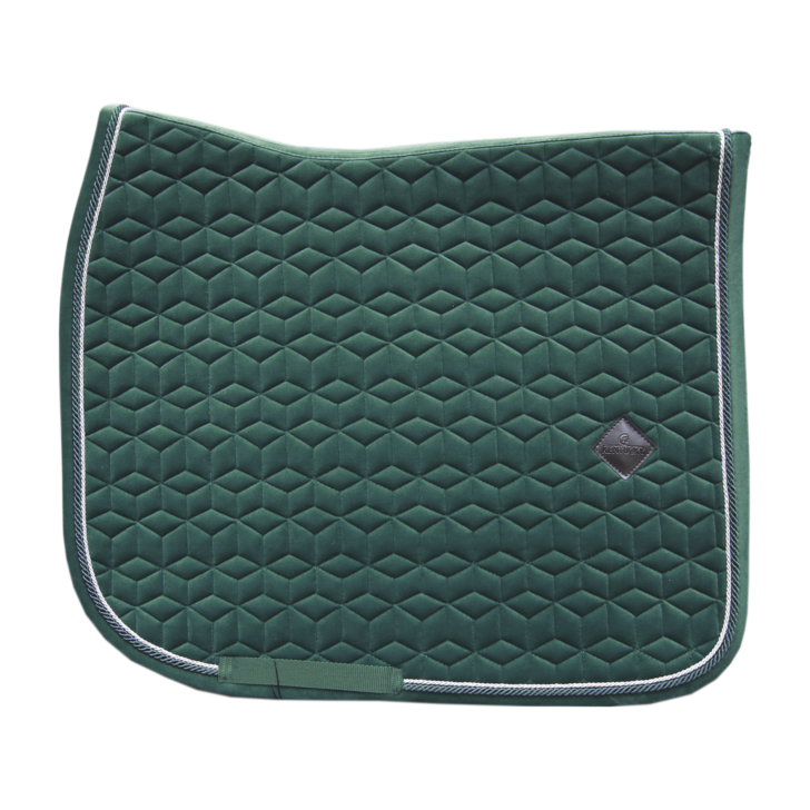 Kentucky velvet Dark Green dressage saddlepad