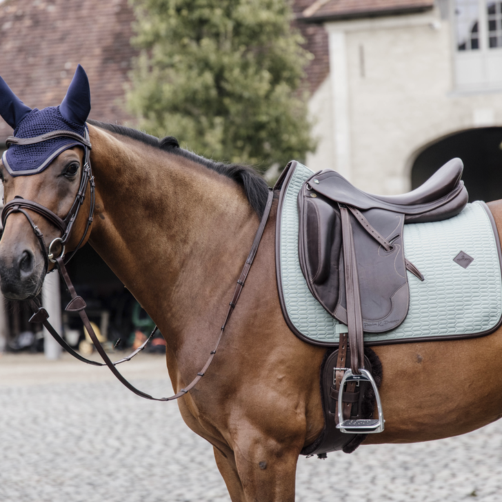 Kentucky Mint leather colour edition dressage saddlepad
