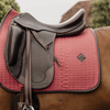 Kentucky Coral leather colour edition dressage saddlepad