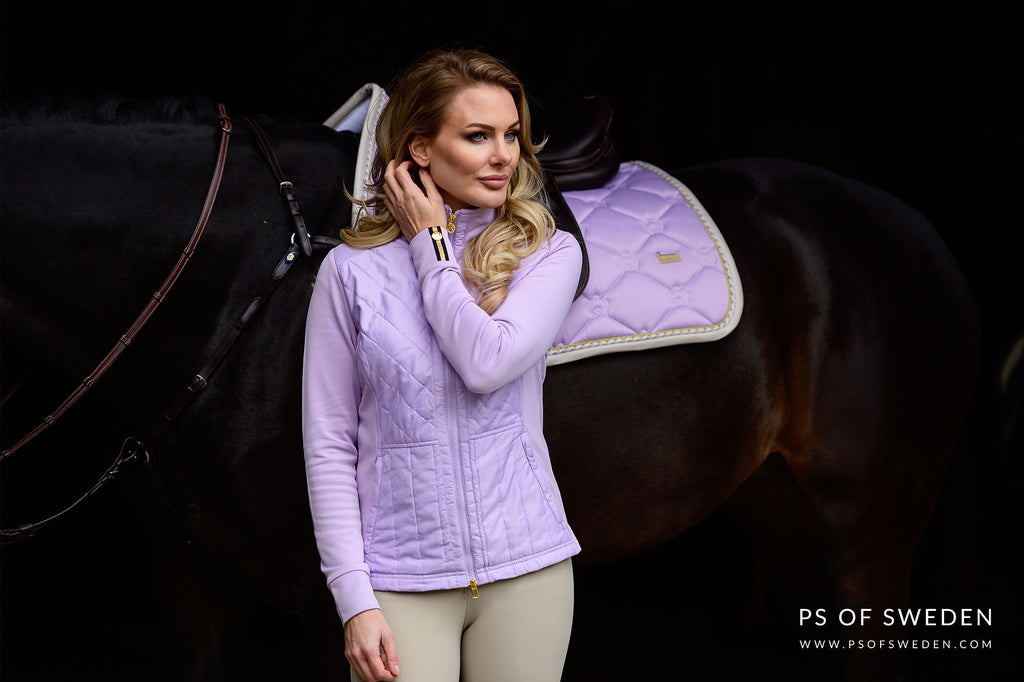 PS of Sweden Soft lilac Annika jacket