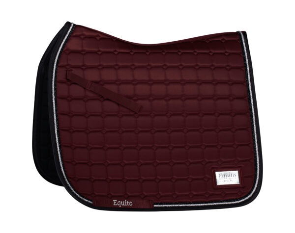 Equito Black Cherry dressage saddlepad