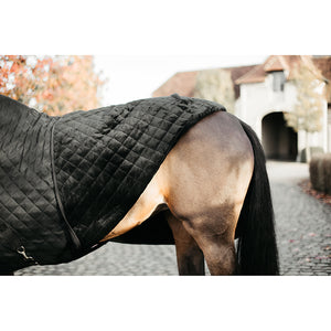 Kentucky Black show rug with black fur (ltd edition)