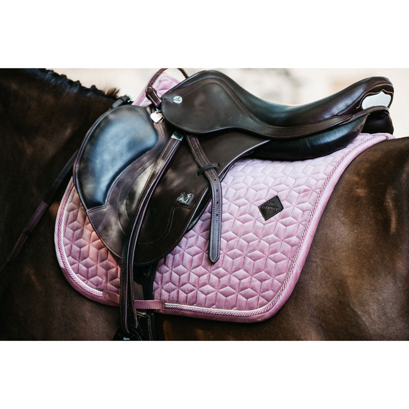 Kentucky velvet old rose dressage saddlepad