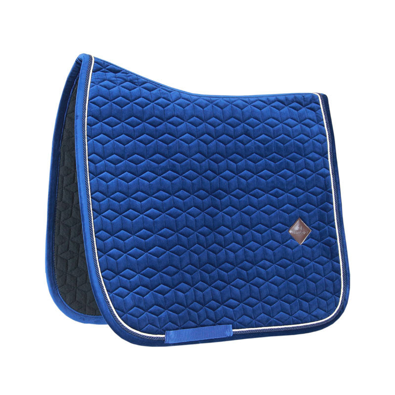 Kentucky velvet navy dressage saddlepad