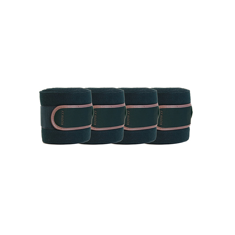 Kentucky Pine Green Polar fleece bandages