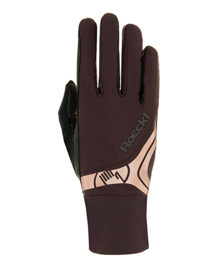 Roeckl melbourne riding gloves Rose Gold