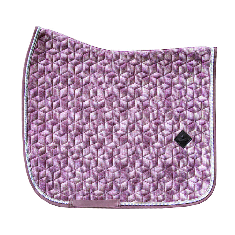 Kentucky Wool old rose dressage saddlepad