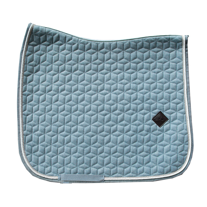 Kentucky Wool Light blue dressage saddlepad