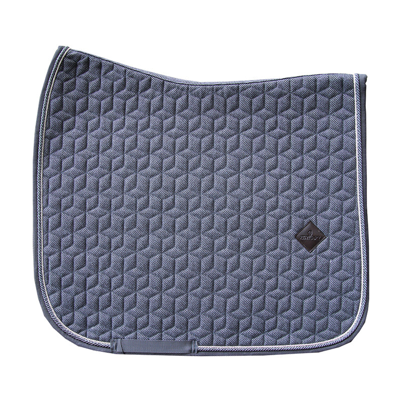 Kentucky Wool Grey dressage saddlepad