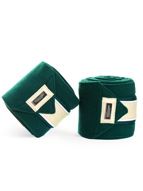 Equestrian stockholm Amazonite fleece bandages