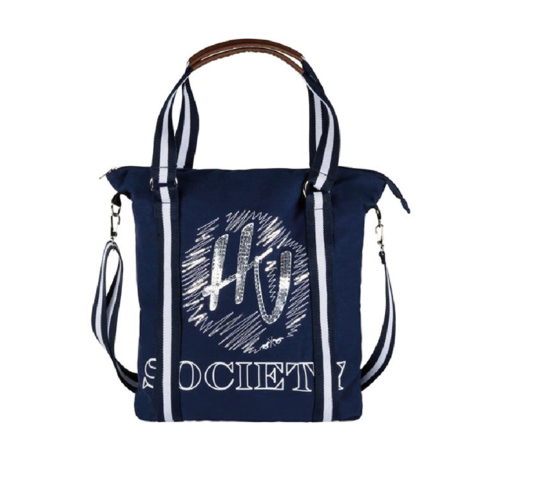 HV Polo navy shopping bag