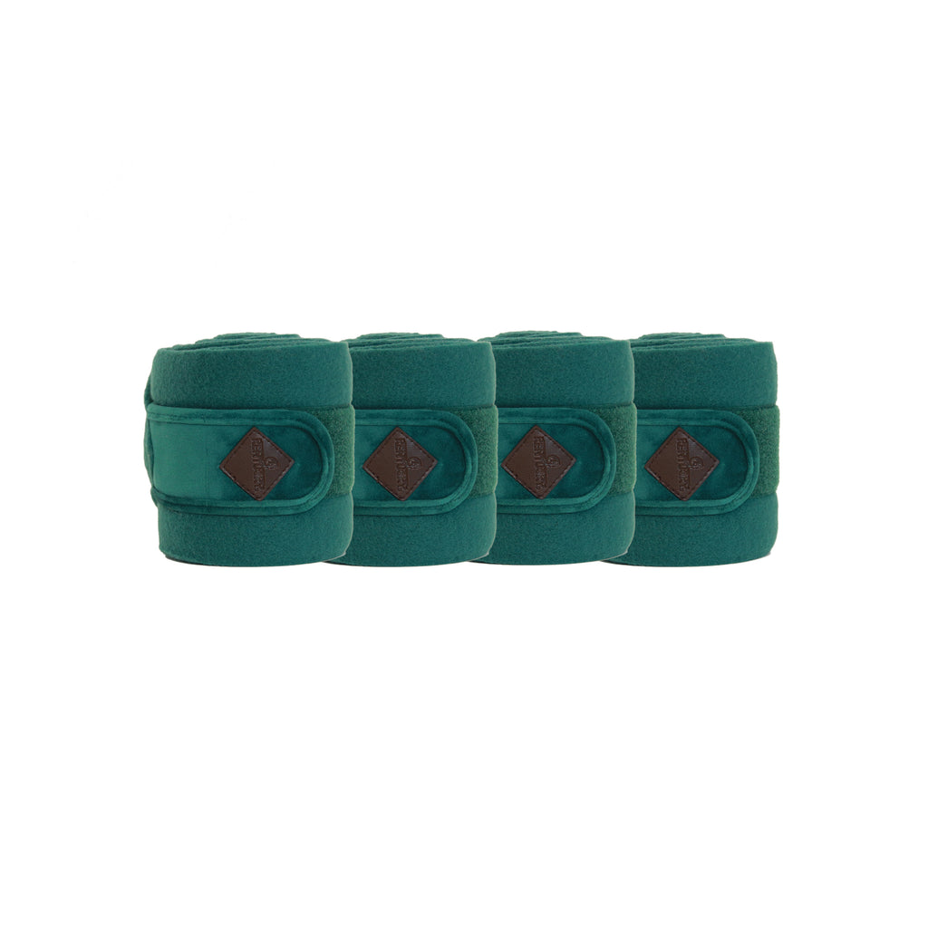 Kentucky Velvet Dark Green Polar fleece bandages