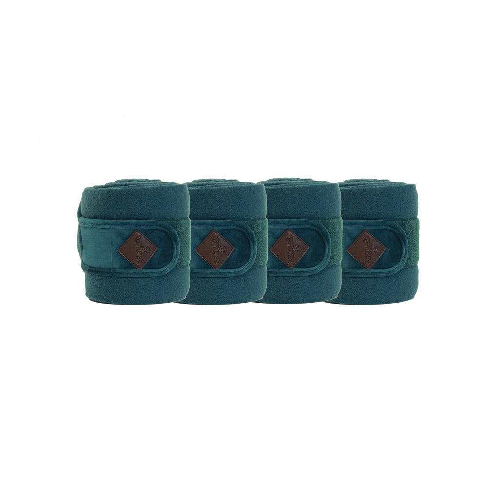 Kentucky Velvet Emerald Polar fleece bandages