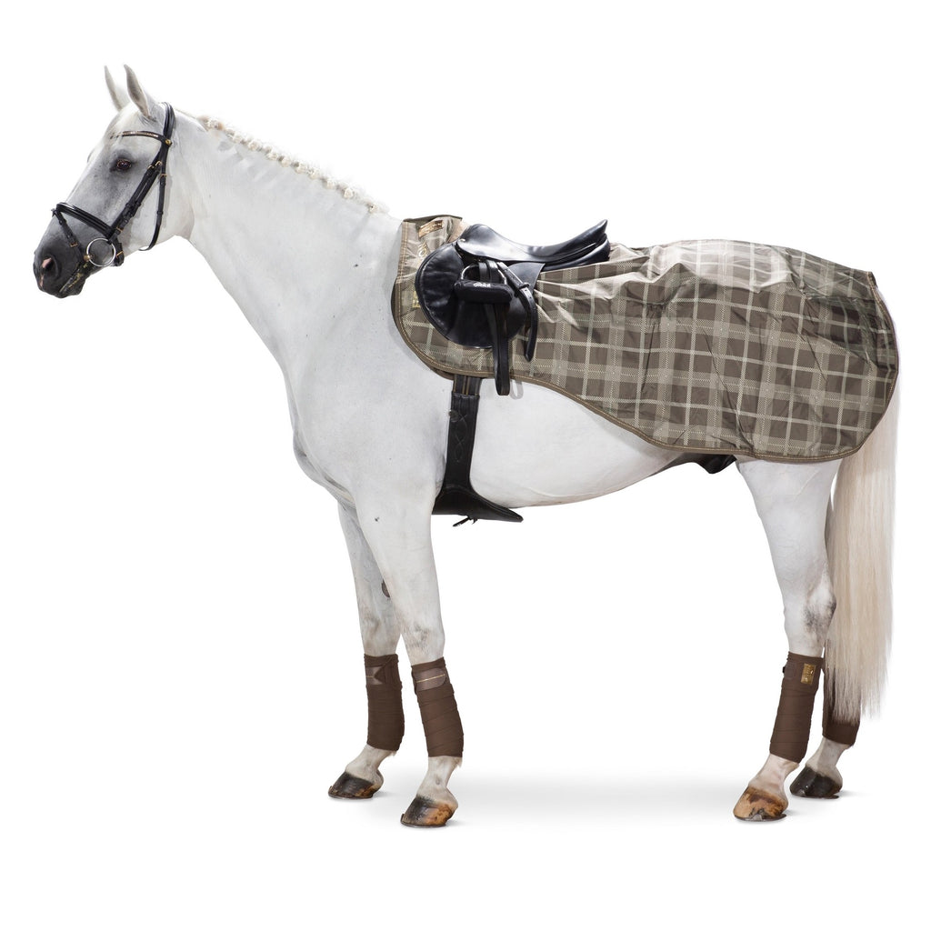 Eskadron Heritage waterproof taupe check exercise sheet