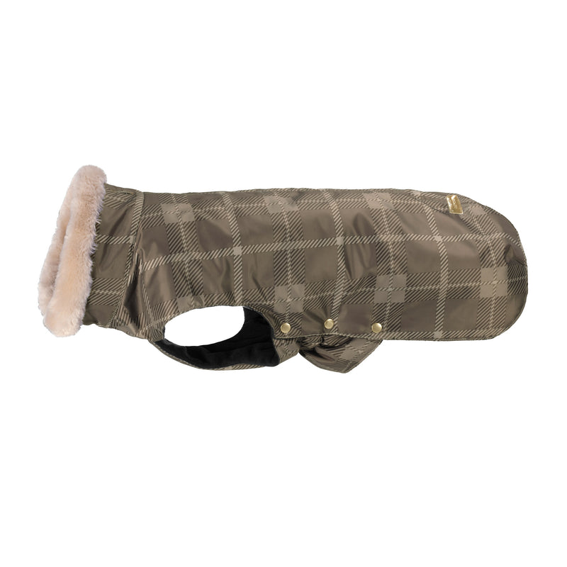 Eskadron Deep taupe check Dog Rug