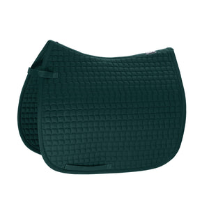 Eskadron racing green cotton saddlepad