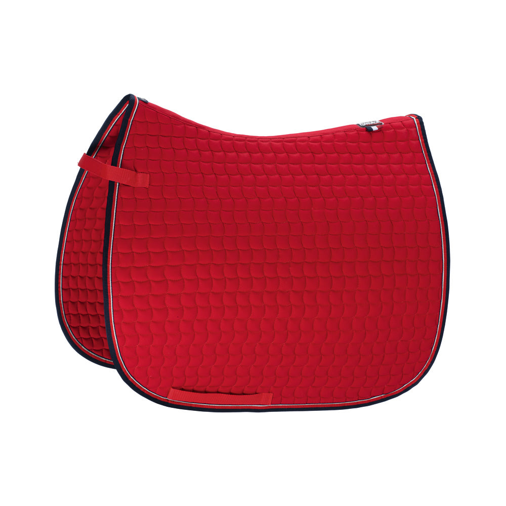 Eskadron Chili red cotton saddle pad