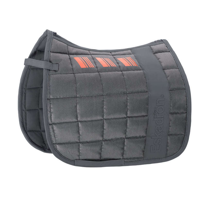 Eskadron Grey mesh big square saddlepad