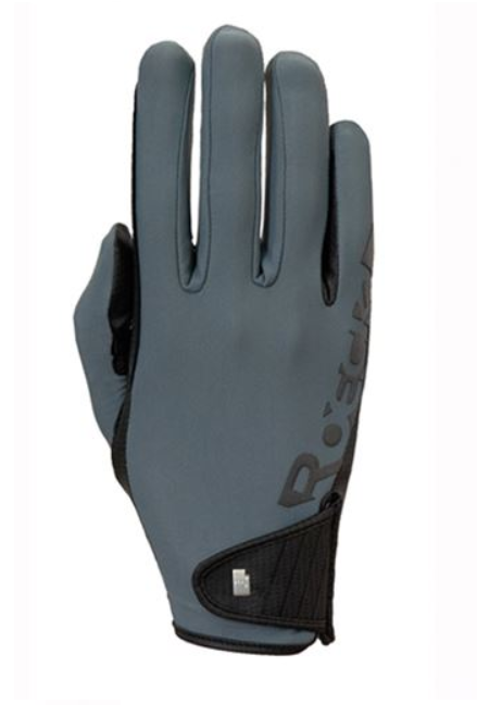 Roeckl muenster grey riding gloves