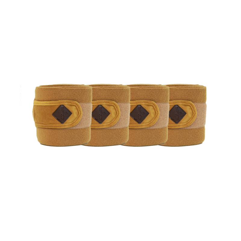 Kentucky Velvet Mustard Polar fleece bandages