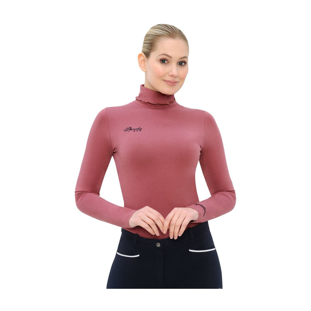 Spooks dark rose Phiene turtleneck