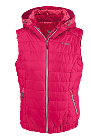 Pikeur Prime Uma ladies gilet in Tomalin Pink