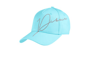 Pikeur Lurex Aquamarine cotton cap