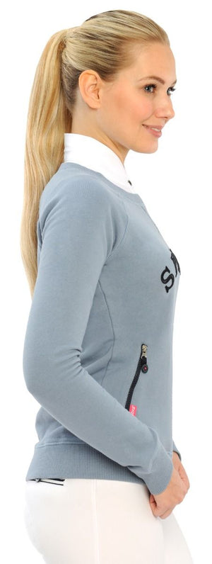 Spooks Rosina dusty blue pullover