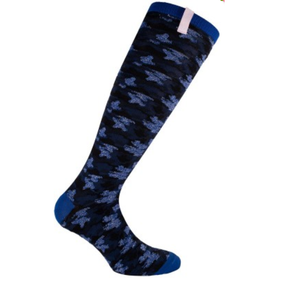 Imperial Riding Royal blue camouflage socks
