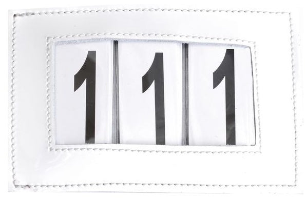 SD Design white patent number holder