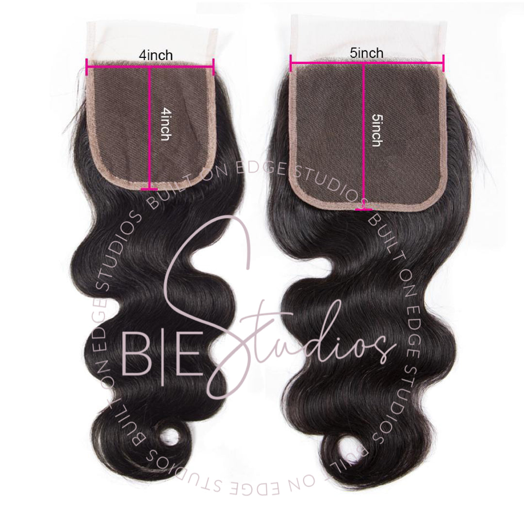 PRE-PLUCKED LACE CLOSURE