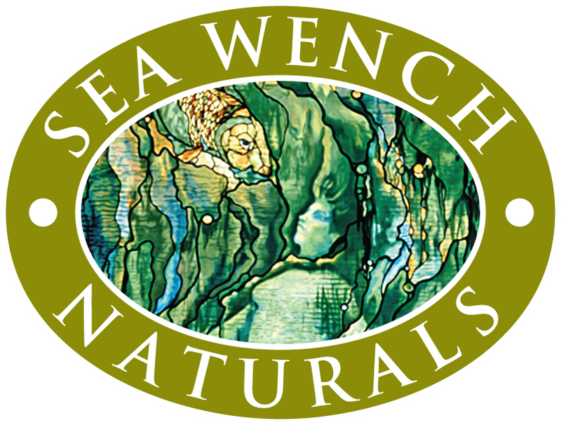 Made from all natural pure Mother Earth. Sea Wench Naturals all natural, body care product line on display in Clayoquot Sound.