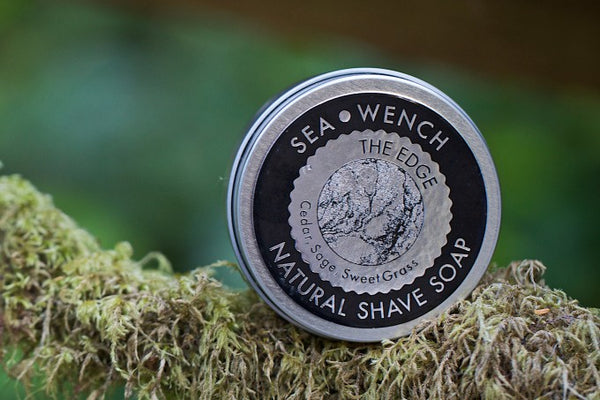 Natural Shave Soap - The Edge