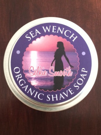 Selkie Smooth Organic Shave Soap