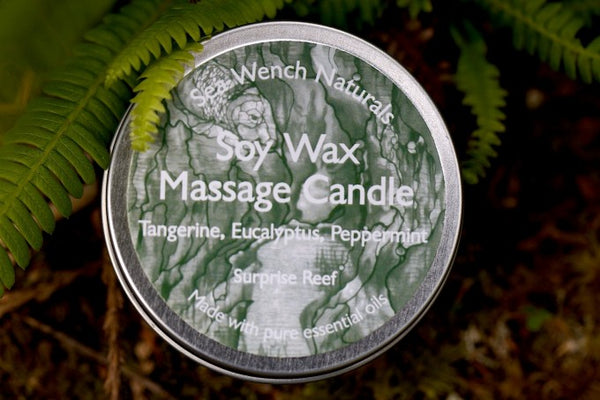Soy Wax Massage Candle - Surprise Reef