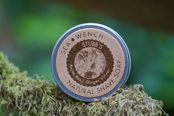 Natural Shave Soap - Stubb's