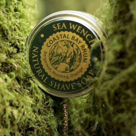 Natural Shave Soap - Coastal Bay Rhum