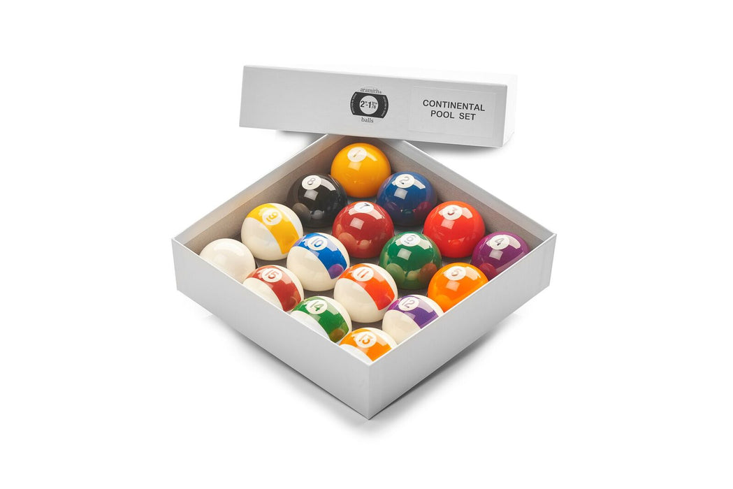Aramith Continental Pool Balls 2""