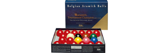 "Aramith Tournament Champion Snooker Balls 2 1/6"" (Set of 22)"