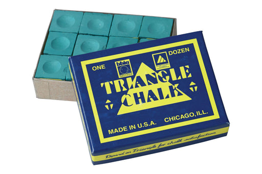 Triangle Chalk 12pk Green