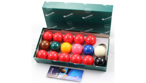 "Aramith Premium Snooker Balls 1 7/8"" (set of 17)"